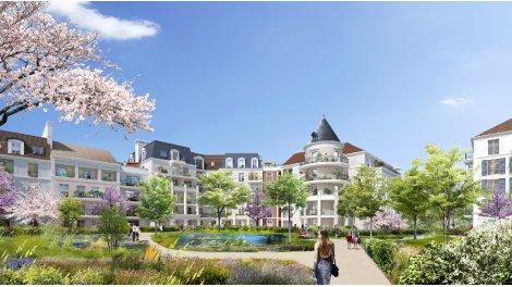 Appartement neuf Le Clos Duroy investissement loi Pinel à Le Blanc Mesnil