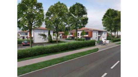 Maisons neuves Le Domaine des Albizias éco-habitat à Fonsorbes