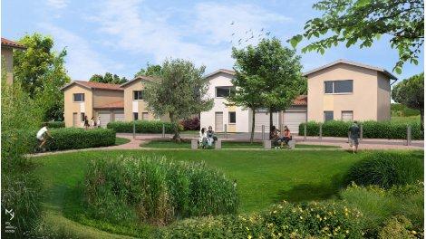 Appartement neuf Le Domaine des Oliviers éco-habitat à Daux