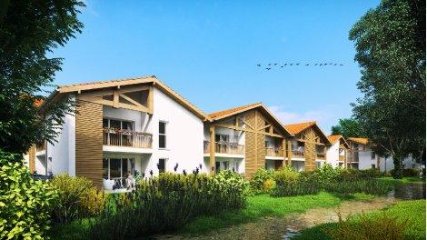 Appartement neuf Arboreale éco-habitat à Vieux-Boucau-les-Bains