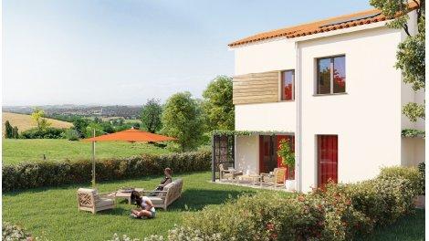 Appartement neuf Les Hameaux de St O éco-habitat à Saint-Orens-de-Gameville