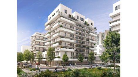 Appartement neuf Jardins des Arènes éco-habitat à Toulouse