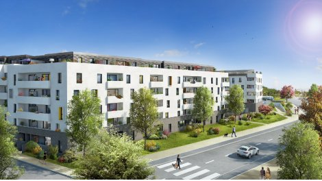 Appartement neuf Ô Garonne éco-habitat à Toulouse