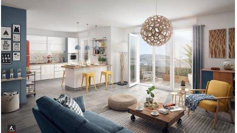 Appartement neuf Chateau St-Pierre investissement loi Pinel à Nice