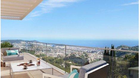 Appartement neuf Le Domaine Cicion éco-habitat à Nice
