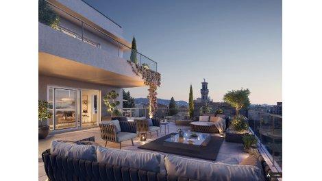 Appartement neuf L'Aparté investissement loi Pinel à Nice