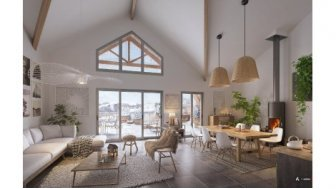 Appartements neufs Prochainement a Valberg éco-habitat à Péone
