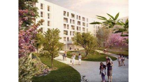 Appartement neuf O2 Parcs investissement loi Pinel à Marseille 15ème