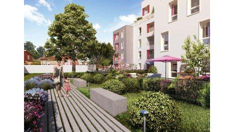 Appartement neuf Octavie investissement loi Pinel à Villeurbanne