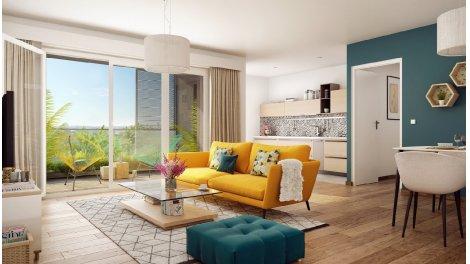Appartement neuf Livia investissement loi Pinel à Dijon