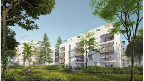 Appartement neuf Ivory Park investissement loi Pinel à Lyon 5ème