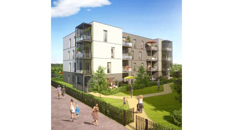 Appartement neuf Eklo investissement loi Pinel à Dijon