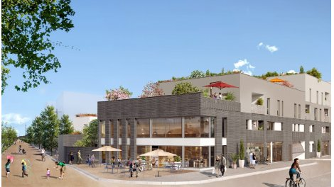 Appartement neuf Plaisance éco-habitat à Dijon