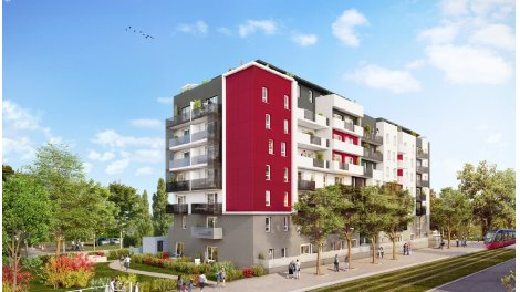 Appartement neuf Maestro investissement loi Pinel à Dijon