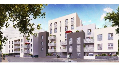 Appartement neuf Muse éco-habitat à Dijon