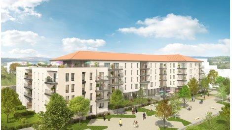 Appartement neuf La Sardonne éco-habitat à Espaly-Saint-Marcel