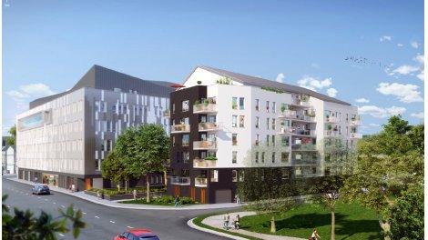 Appartement neuf Riveo investissement loi Pinel à Rouen