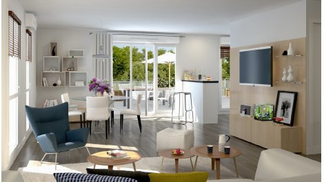 Appartement neuf Oxygen éco-habitat à Colombelles