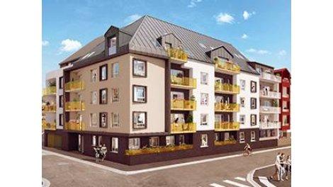 Appartement neuf Lumi'r éco-habitat à Rouen