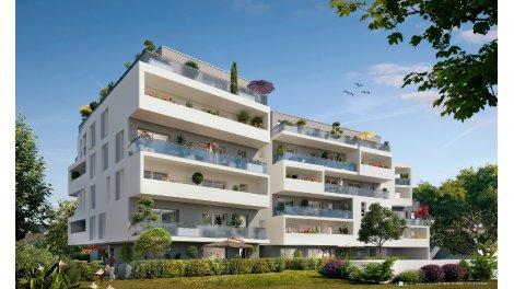 Appartements neufs Le Meridien investissement loi Pinel à Saint-Nazaire