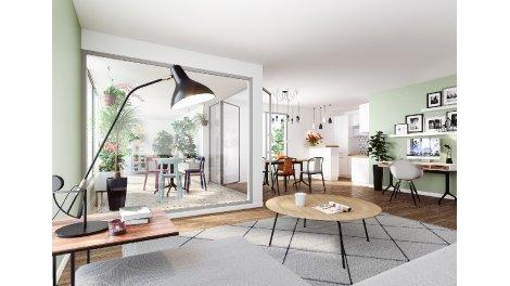 Appartement neuf Le Flore investissement loi Pinel à Nantes