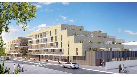 Appartement neuf Les Terrasses de Galisson éco-habitat à Mérignac