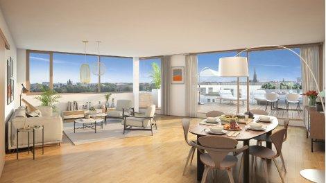 Appartement neuf Bordoscena Prix Maitrisés à Bordeaux
