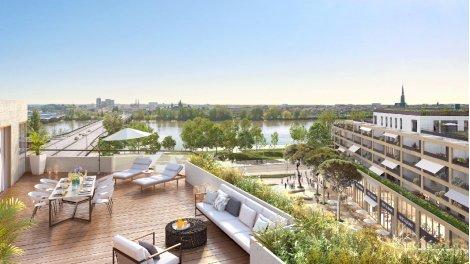 Appartement neuf Bordoscena éco-habitat à Bordeaux