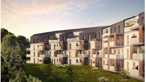 Appartement neuf Bois & Sens éco-habitat à Villenave-d'Ornon