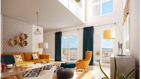 Appartement neuf Hyde Park éco-habitat à Bordeaux