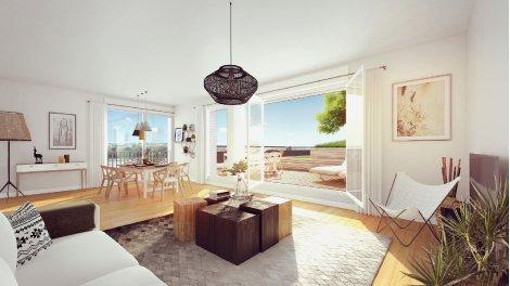 Appartement neuf Bordoriva Prix Maitrisés éco-habitat à Bordeaux