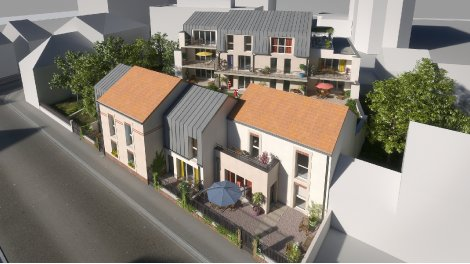 Appartement neuf Residence Biscara Appartements investissement loi Pinel à Orléans
