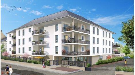 Appartement neuf Villa Eugenie éco-habitat à Bourges