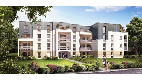 Appartement neuf Residence des Fontainiers investissement loi Pinel à Saran