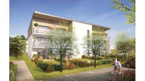 Appartement neuf Thalie investissement loi Pinel à Theix