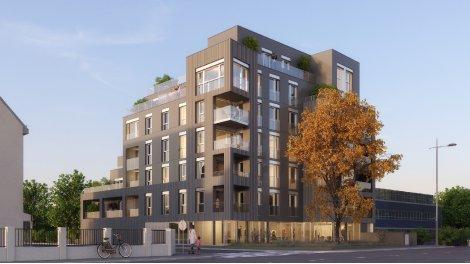 Appartement neuf Distinction éco-habitat à Rennes