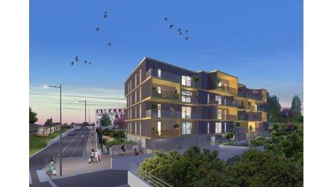 Appartement neuf Le Klimt éco-habitat à Montpellier