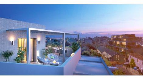 Appartement neuf L'Edda éco-habitat à Montpellier