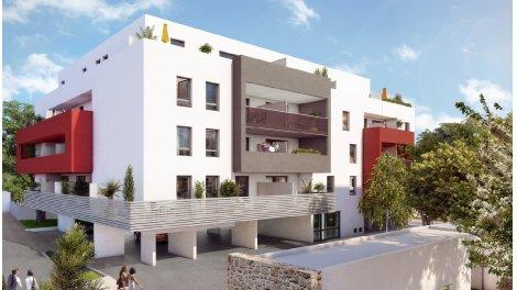 Appartements neufs Amalia investissement loi Pinel à Montpellier