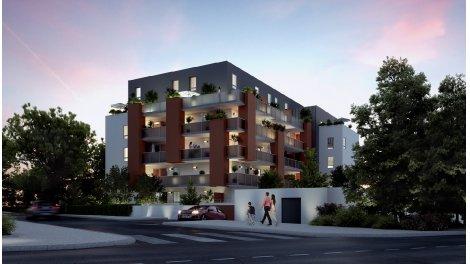 Appartement neuf Les Lucioles éco-habitat à Montpellier
