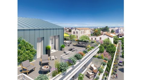 Appartement neuf Alcove investissement loi Pinel à Montpellier