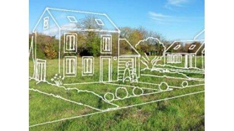 """Terrain constructible du mois """"Les Jardins du Bourgneuf"""" - Morancez"""
