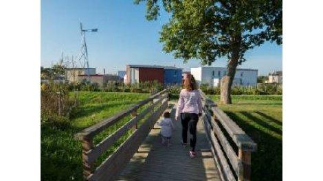 """Terrain constructible du mois """"Légery Eco-Quartier Grd Moulin"""" - Saint-Léger-des-Bois"""