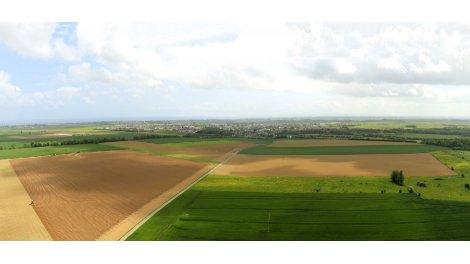 """Terrain constructible du mois """"Les Hauts Pres II"""" - Douvres-la-Delivrande"""