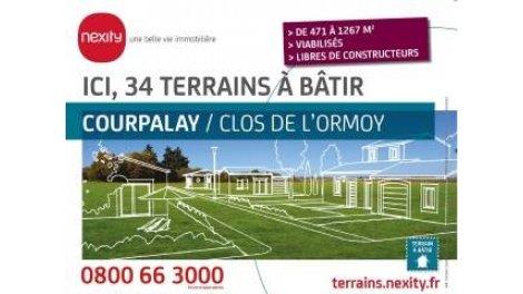 """Terrain constructible du mois """"Clos de l'Ormoy"""" - Courpalay"""