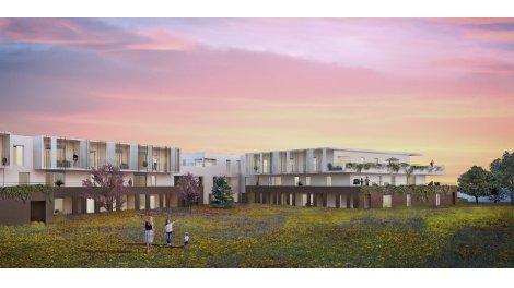 Appartement neuf Residence Aquarelle éco-habitat à Castelnau-le-Lez