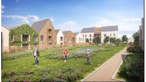Appartement neuf Jardins Terrasses de Montevrain éco-habitat à Montévrain