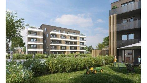 Appartement neuf Les Aromes investissement loi Pinel à Colmar