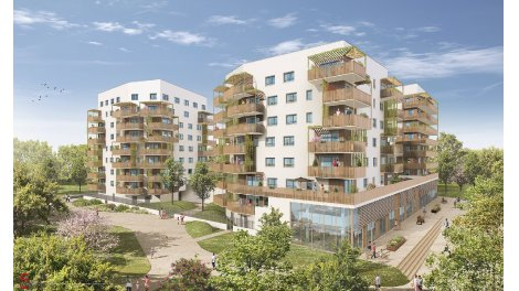 Appartement neuf Biosphere investissement loi Pinel à Ostwald