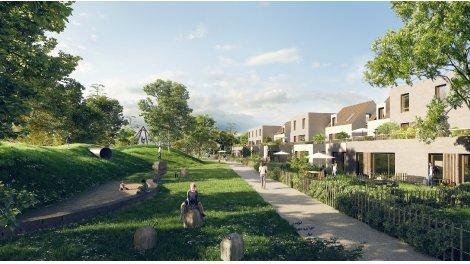 Appartements neufs Le Flore investissement loi Pinel à Mundolsheim